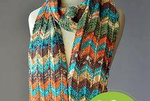 Breipatronen lace sjaal