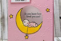 Card twinkle twinkle star