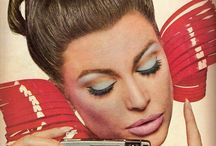 VINTAGE MAKE UP / Everything about 40's red lips to 50's winged eyeliner and seventies bold make up. Start pinning.