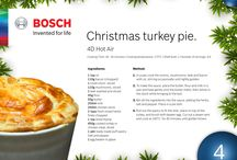 Christmas food with Bosch