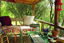 Home Porches/decks/balconies