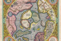 Piękne stare mapy