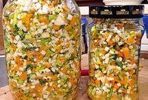 eingesalzene Gemüse
