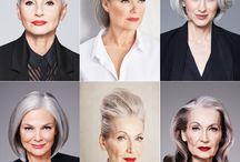 Tolle Frisuren für graue Haare