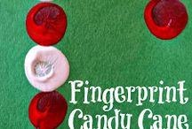 Fingerprint candycane
