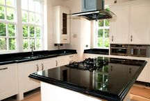 Kitchen worktops / Custom made granite and quartz worktops for your kitchen!  See more www.bespoke-worktops.co.uk