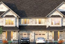 Villa Town home design / 2 Storey Town home  1700 sq. ft. or 1670 sq. ft (special end unit) 3 Bedrooms