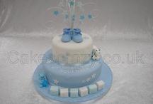Cakes - Christening