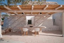 Our last project / On this complex of historic trulli in Ostuni we created a dwelling with two bedrooms and two bathrooms, achieved by a fairly conservative restoration.