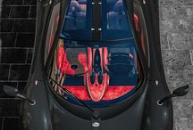 Bat mobile / I like how the top is all glass, transparent glass