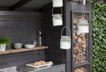 Outdoor kitchen...
