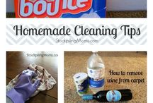 Cleaning  / by Laura Steele
