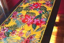 decoração em tecidos