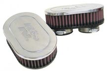 K&N RC-2282 - Universal Performance Air Filters (Cotton gauze 7.000 in. L x 4.500 in. W) | TDOT Performance
