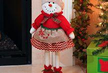 muñecos navidad 2