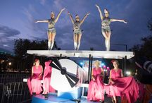 2016 Adelaide Fringe Parade / Take a walk on the wild side and be dazzled by the spectacular Fringe Night Parade — on a brand new route along North Terrace.  With more than 80 floats, 1,500 artists and a pumping soundtrack by DJ TR!P, it's the event everyone will be talking about.