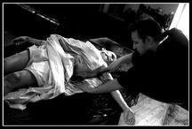 sanctificari festum / Série à thème fantastique, Sanctificari festum est l'histoire d' un festin malsain où le plat de résistance est un ange Modèle : Patricia Moravac Modèle: Guillaume Lemaître