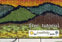 Modern Loom / Weaving & modern tapestry