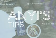 Anyi's Tips / A collection of fashion and shoe care tips from Anyi Lu.
