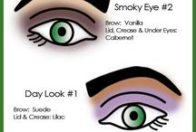 AH loves makeup tips / Eyeshadow looks for green eyes, smokey eyes and great brows