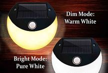 Solar Garden Lights / This is a board for beautiful solar garden lights!