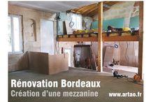 Rénovation d'une échoppe double, #Bordeaux / Rénovation d'une échoppe double, #Bordeaux