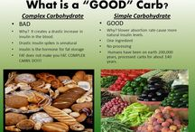 Complex verses Simple Carbohydrate / What is a good or bad Carb, this board explores what Carbohydrates we should be eating and why!