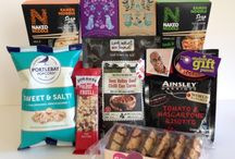 Tasty & Nutritious parcels for students / When they're away they need to eat. We try & balance the pressures of uni life with easy to prepare foods. Some healthy, some snacks. There's also add-ons such as dried fruit available