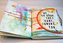 Art Journalling / Art Journalling Inspiration  / by Bree Tetz