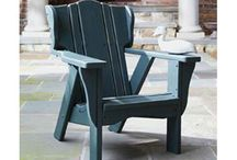 Uwharrie Chair / Uwharrie Chair Company collection of outdoor wood furniture is made an hour down the road from us here in North Carolina. Uwharrie Chair's unique outdoor furniture collections combine classic American styling with extraordinary comfort and character.  / by Carolina Rustica
