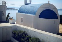 Mykonos, Greek island. / Mykonos' nickname is The island of the winds....