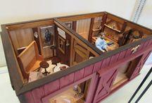 American furniture styles in miniature