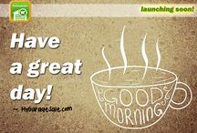 Good Morning / #GoodMorning quotes and motivational. ~ MyGarageSale.com #MyGarageSale #GarageSale