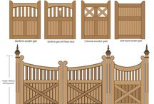 fence gates / ideas for a gate for our new fence