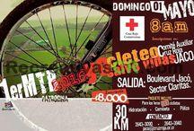 Recreativas MTB Mayo 2016 / Calendario de Eventos de Ciclismo Recreativo en MTB para Costa Rica