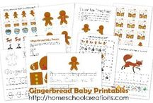 Gingerbread Theme / by Homeschool Creations
