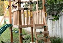 Wood Playsets