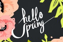 Spring / by Katelyn - learningcreatingliving.com