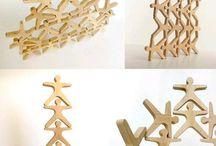 drewniane puzzle 3d