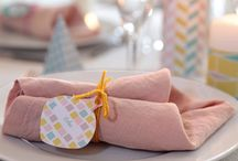 serviettes deco