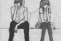 Copule drawings <3