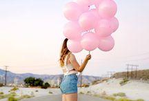 Fotos com balão