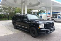 Used 2003 Ford Excursion for Sale ($16,500) at West Palm Beach, FL / Make:  Ford, Model:  Excursion, Year:  2003, Body Style:  SUV, Exterior Color: Black, Interior Color: Tan, Doors: Four Door, Vehicle Condition: Excellent,  Mileage:164,357 mi, Engine: 8 Cylinder, Transmission: Automatic, Drivetrain: 2 wheel drive, Fuel: Diesel, Garage Kept, Non Smoking, Records/Receipts Kept, Well Maintained, Regular oil changes, Power Windows, Tinted Glass.   Contact:  561-800-9533   Car ID (56751)