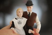 Bates / 1:12 Porcelain doll by Taru Astikainen