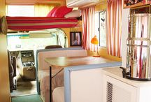 Cool campers / Campervan ideas and inspiration for our Volkswagen t5 conversion Wilma.
