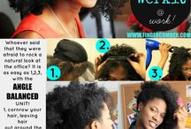 Fake it till you make it / Hair and Beauty/ DIY - Wig making and clip in making, especially for natural hair