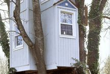 Treehouses I want one! / by Recia Kiser