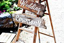 Wedding ideas Caroline & Oli 2017!