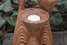 Lathe woodwork