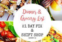 Shift Shop Recipes